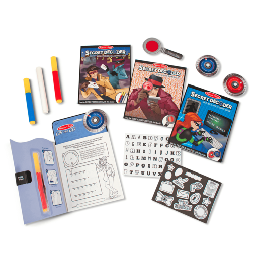 Melissa & Doug Secret Decoder Deluxe Activity Kit from TheToyShop