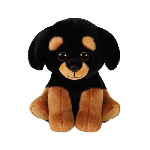 Ty Beanie Babies 15cm Soft Toy - Trevour The Rottweiller