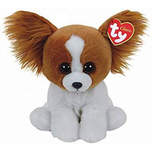 Ty Beanie Babies 15cm Soft Toy - Barks The Puppy