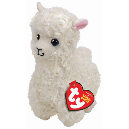 Ty Beanie Babies 15cm Soft Toy - Lily Llama