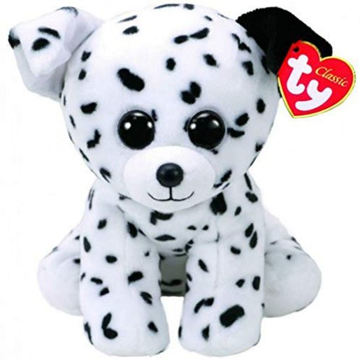 Ty Beanie Babies 15cm Soft Toy - Spencer The Dalmatian Dog