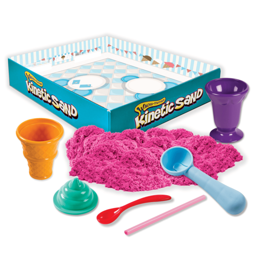 Kinetic Sand Ice Cream Treats Set