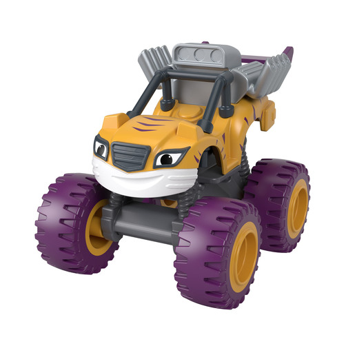 Nickelodeon Blaze and the Monster Machines Vehicle - Stripes from TheToyShop
