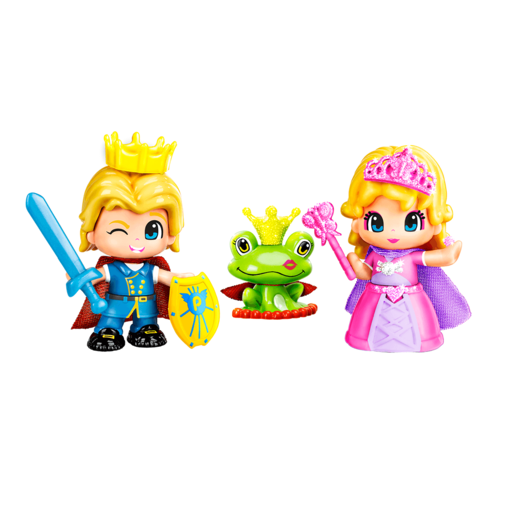 Pinypon Royal Prince & Princess Figure Set