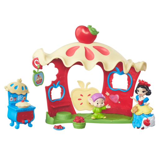 Disney Princess Little Kingdom Mini Doll Set - Snow White's Happily Ever After Café