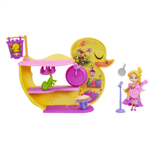 Disney Princess Little Kingdom Mini Doll Set - Rapunzel Dream n' Sing Café