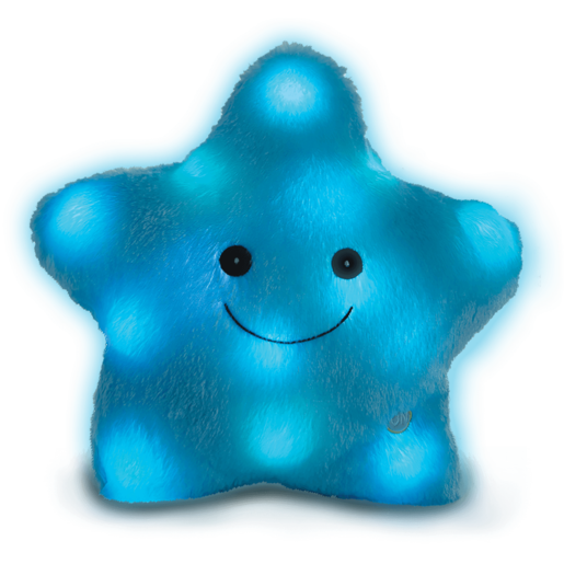 Snuggle Buddies 36cm Magical Light-Up Star