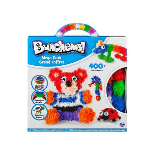 Bunchems Mega Pack 400 pcs. - Bear