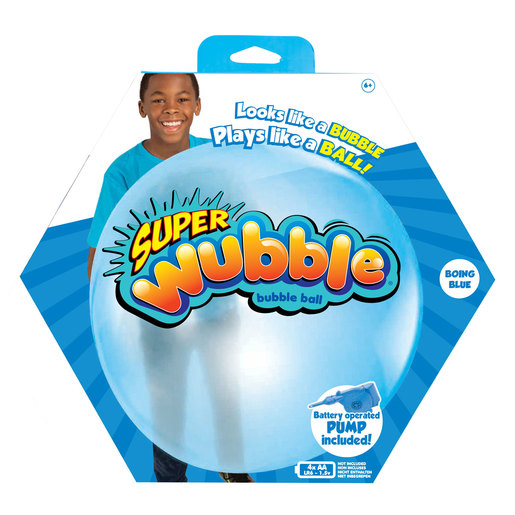 Wubble Bubble Ball with Pump - Blue