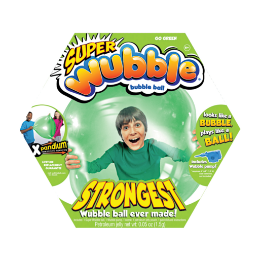 Wubble Bubble with Pump - Green