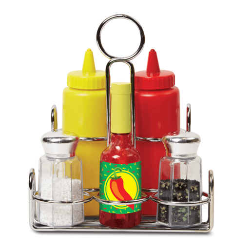Melissa & Doug Food Condiments Set