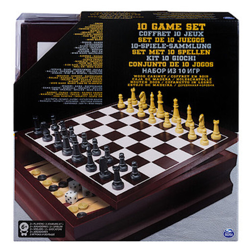 10 Family Games Set