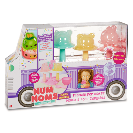 Num Noms Lights Freezie Pop Maker Playset