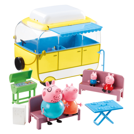 Peppa Pig Campervan Vehicle Playset