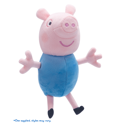 Image of Peppa Pig Collectable Soft Toy - George