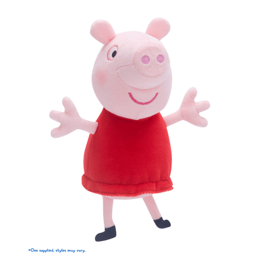 Image of Peppa Pig Collectable Soft Toy - Peppa
