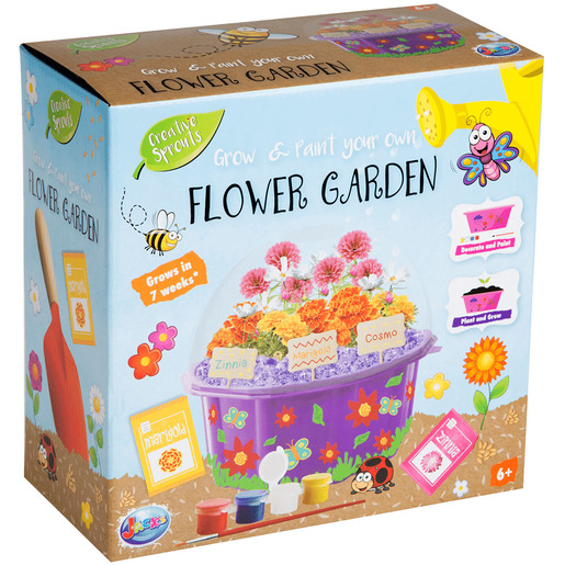 Jacks Grow and Paint Your Own Flower Garden