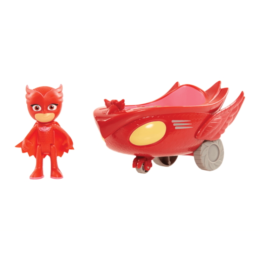 PJ Masks Owl Glider Vehicle with Owlette Figure