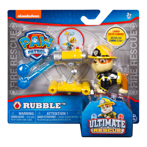 Paw Patrol Ultimate Rescue Lauching Water Cannon - Rubble