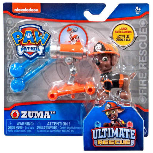 Paw Patrol Ultimate Rescue Lauching Water Cannon - Zuma