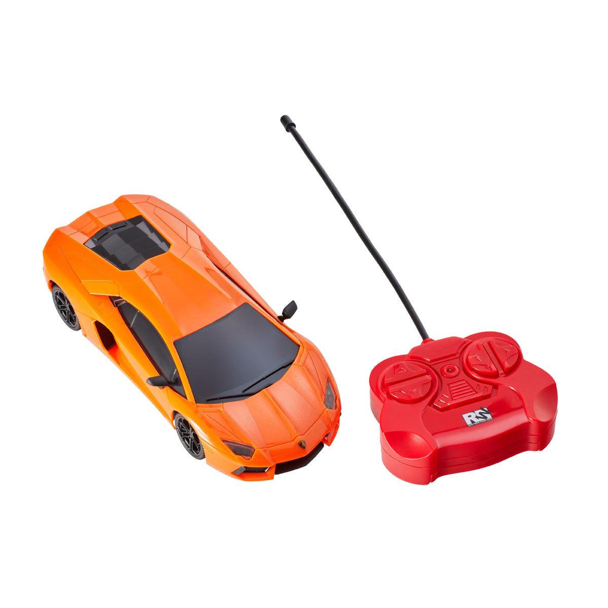 Lamborghini Aventador Orange Remote Control Car The Entertainer
