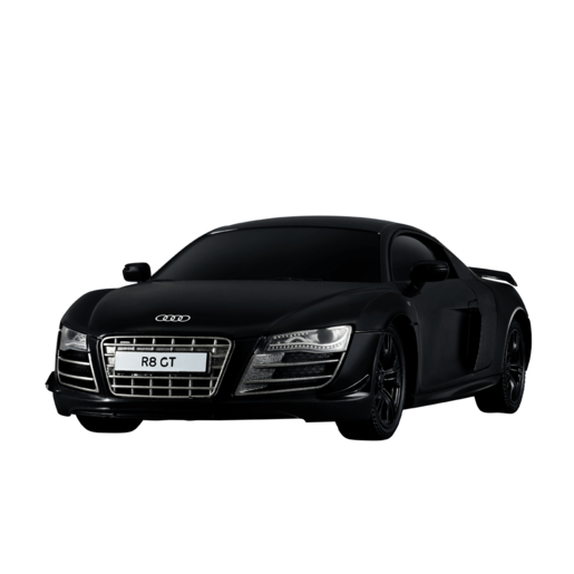 1:24 Remote Control Car   Black Audi R8 GT