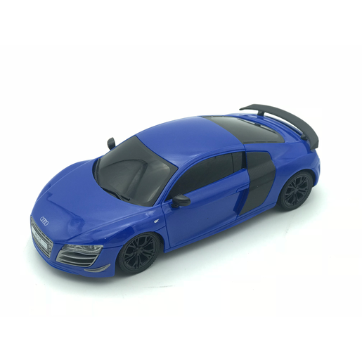 1:24 Remote Control Car - Blue Audi R8 GT