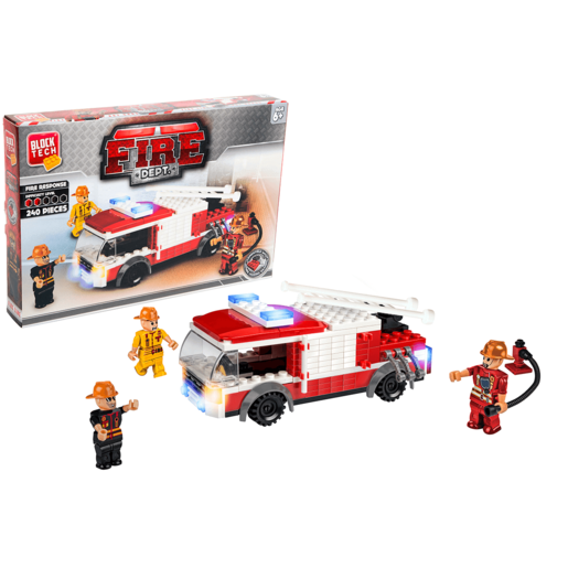 Block Tech - Fire Department