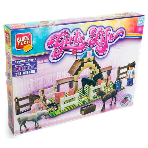 Block Tech Girls Life - Country Stable 355pc