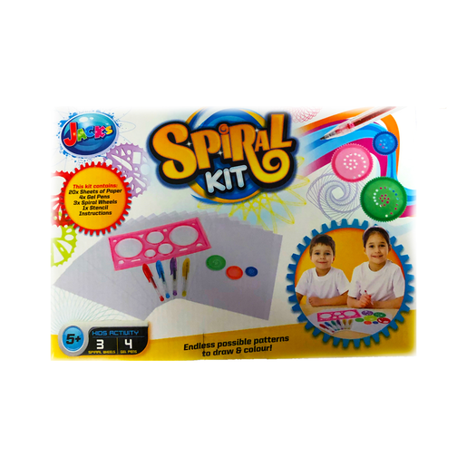 Jack's Spiral Drawing Kit