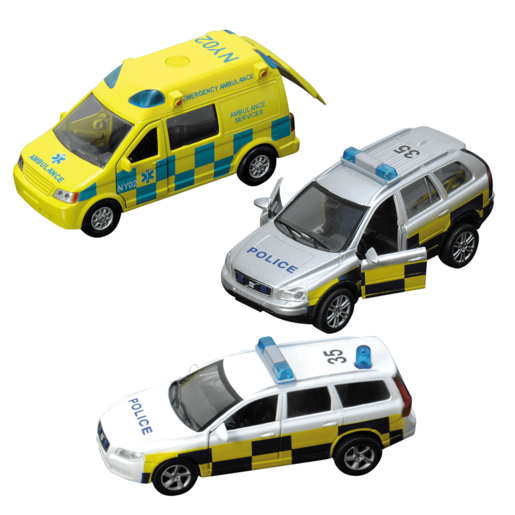 Teamsterz Emergency Response Car (Styles Vary)