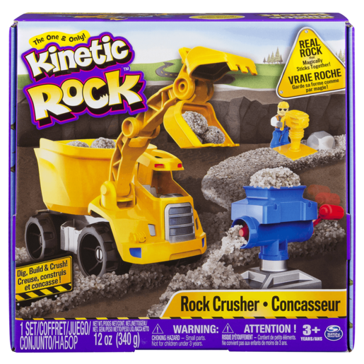 Kinetic Sand Rock Crusher Kit