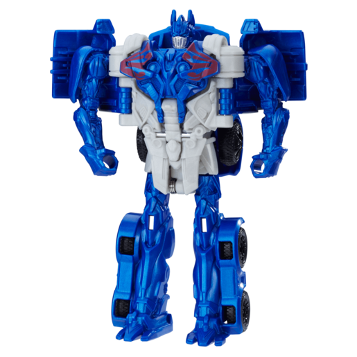 Transformers: The Last Knight 1-Step Turbo Changer Figure - Optimus Prime
