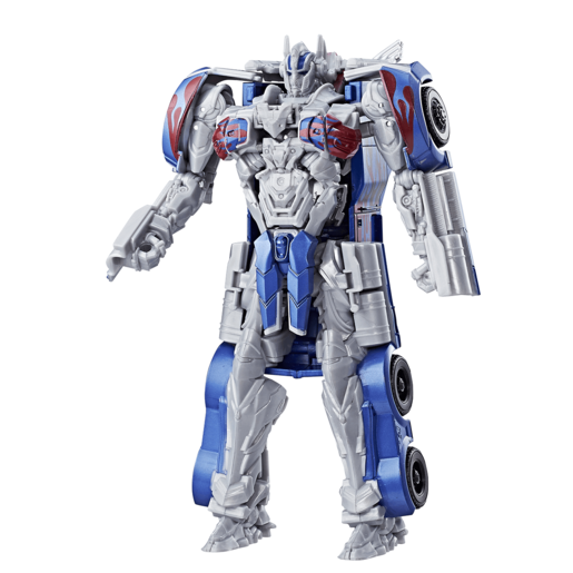 Transformers: The Last Knight 3-Step Turbo Changer Figure - Optimus Prime