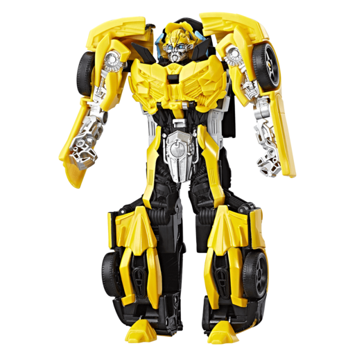 Transformers: The Last Knight 2-Step Turbo Changer Figure - Bumblebee