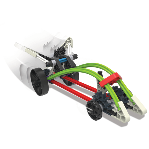 KNEX Starter Vehicle Rocket Car Building Set