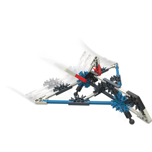 KNEX Starter Vehicle Stealth Plane Building Set