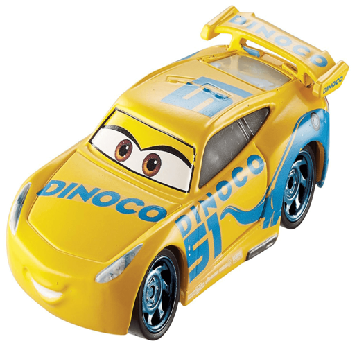 Disney Pixar Cars 3 Checklanes Vehicle - Dinoco Cruz Ramirez
