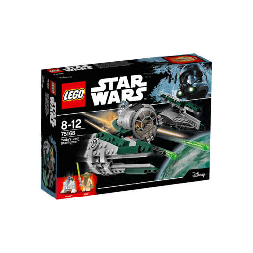 LEGO Star Wars Yodas Jedi Starfighter - 75168