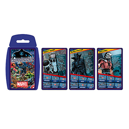 Top Trumps Marvel Universe Whos Your Hero Cards