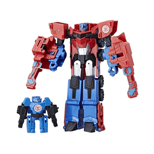 Transformers Robot in Disguise Combiner Force - Hi-Test and Optimus Prime
