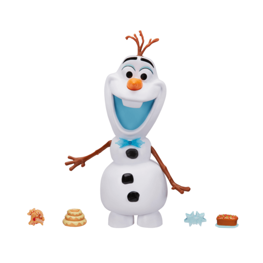 Disney Frozen Olafs Adventure Snacking Talking Olaf