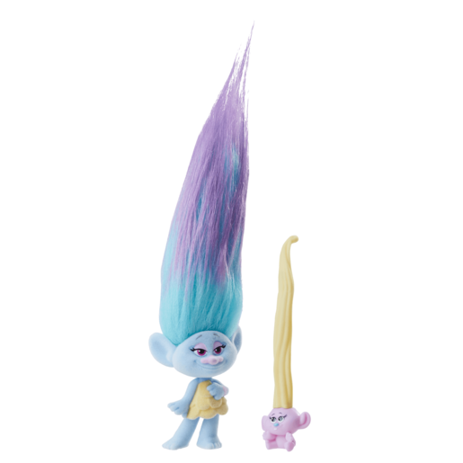 Dream Works Trolls Hair Raising Troll and Baby - Chenille
