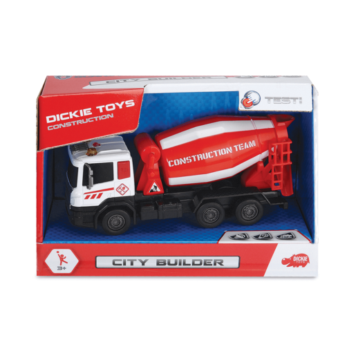 City Builder Vehicle - Red