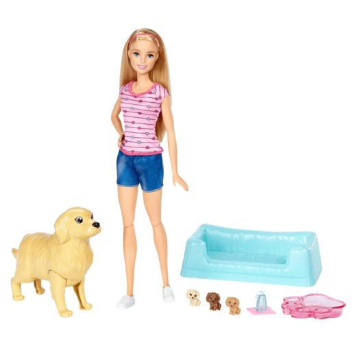 Barbie Newborn Pups - Blond Barbie