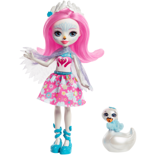 Enchantimals 15cm Doll - Saffi Swan
