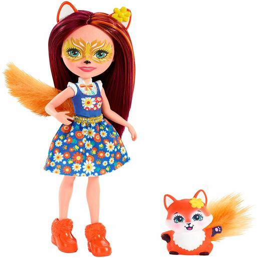 Enchantimals 15cm Doll - Felicity Fox and Flick