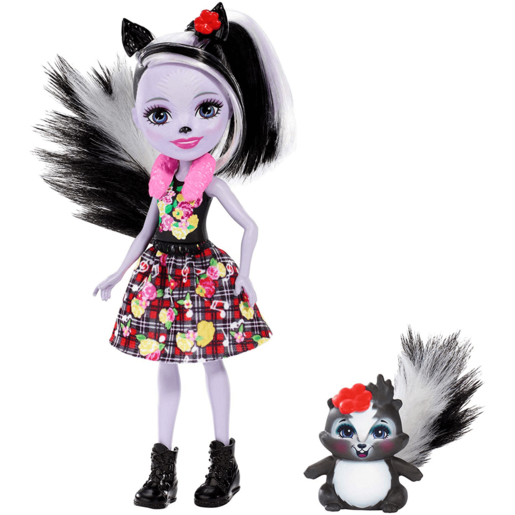 Enchantimals 15cm Doll - Sage Skunk and Caper