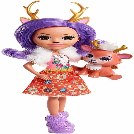 Enchantimals 15cm Doll - Danessa Deer and Sprint