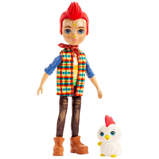 Enchantimals 15cm Doll - Redward Rooster and Cluck